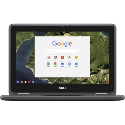 "Dell Chromebook 11 3189 11.6"" 32GB N3060 ChromeOS,Black (Refurbished)"