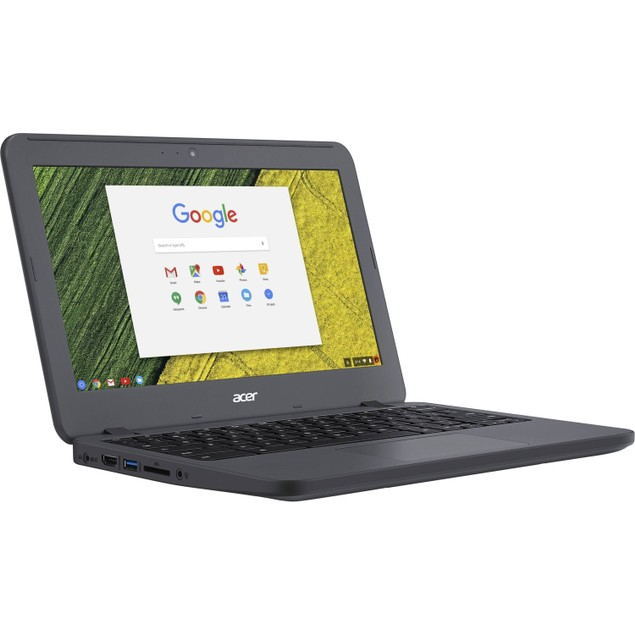"Acer Chromebook 11 C731T 11.6"" 32GB N3060 ChromeOS,Black (Refurbished)"