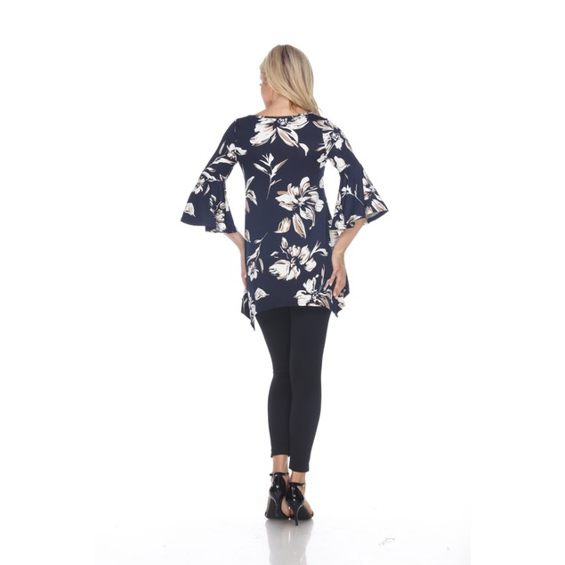 Blanche Tunic Top - 5 Colors - Extended Sizes