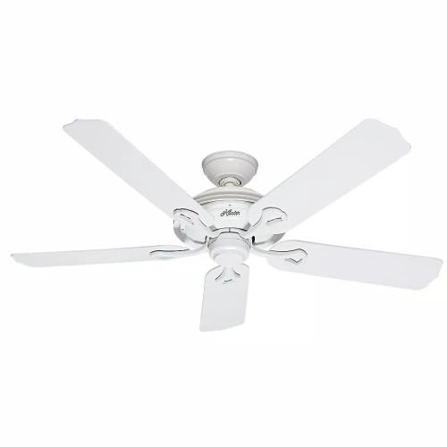 """Hunter Mariner 52"""" Indoor/Outdoor Aluminum 3 Speed Control Ceiling Fan,"""
