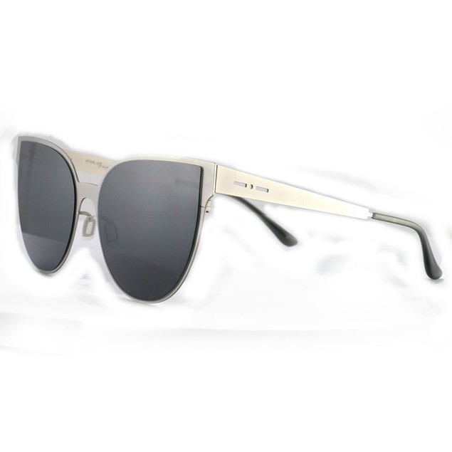 Italia Independent Women's Sunglasses II0511 075 Silver 58 17 140