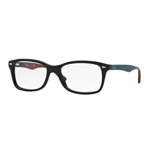 Ray-Ban Matte Black Grey Eyeglasses RX5228-5544-53