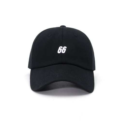 Unisex Embroidery Number 66 Baseball Cap