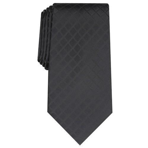 Perry Ellis Men's Alvan Solid Tie Black Size Regular