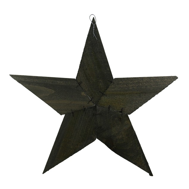 Rustic Raw Wood Patchwork Star Wall Hanging 20 Wall Sculptures