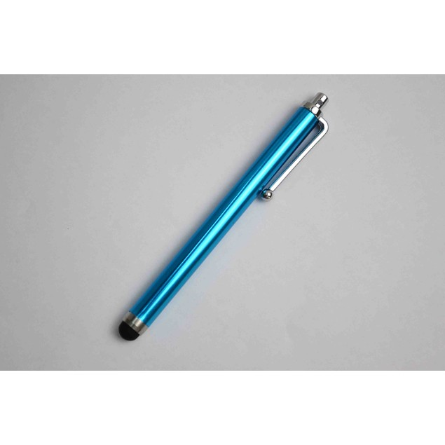 1 pc Sky blue Aluminum Universal Sensitive Stylus Touch screen Pen
