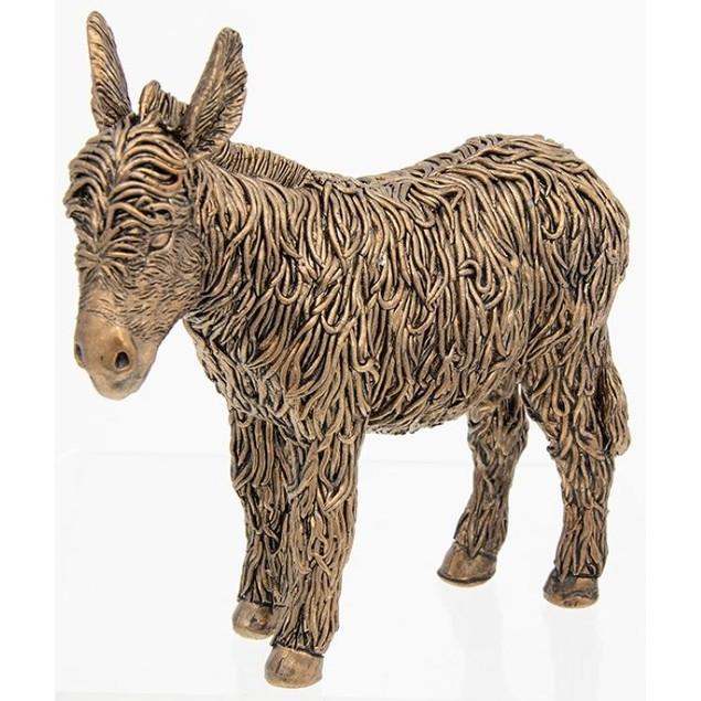Bronze Standing Donkey Ornament
