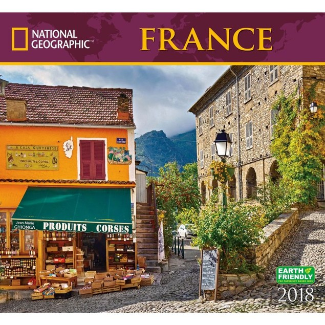 France National Geographic Wall Calendar,  by ZEBRAS