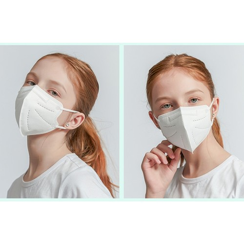 10 Pcs Children's Mask N95 Protection Five Layers