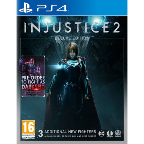 Injustice 2 Deluxe Edition PS4 Game
