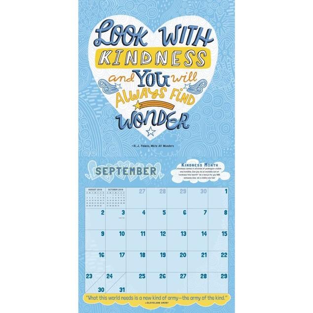 Wonder Wall Calendar, Action Movies by Calendars