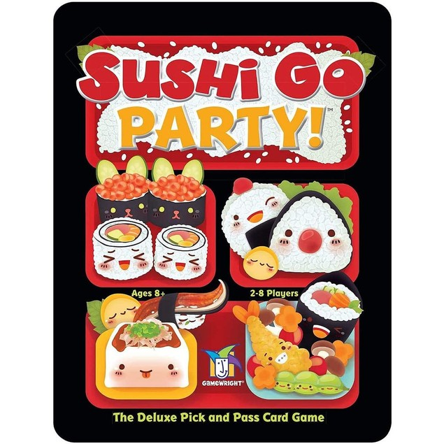 Sushi Go Party! Pick And Pass Game