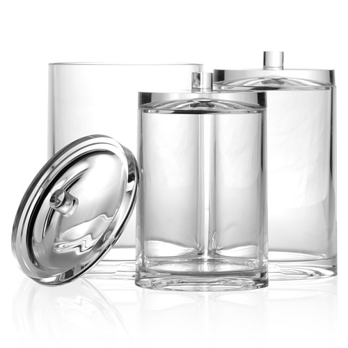 Cosmetic Jar Organiser Trio | Pukkr