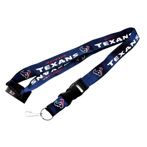 Sports Team Logo Clip Lanyard Keychain Id Holder Ticket - Blue
