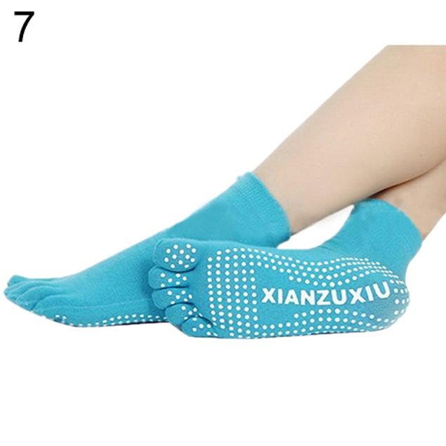 Women 5 Toes Yoga Warm Socks