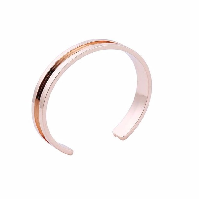 Elastic Tie Hair Band Bangle - 2 - Pack
