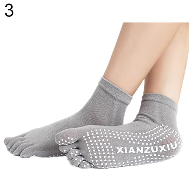 Women 5 Toes Yoga Warm Socks