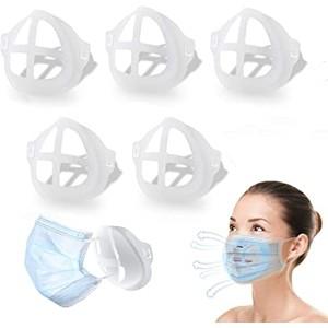 10-Pack: 3D Face Mask Bracket for Comfortable Breathing