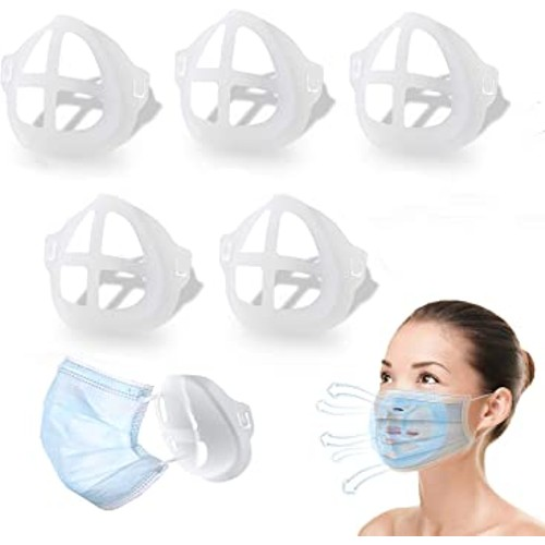 10-Pack: 3D Face Mask Bracket for Comfortable Breathing
