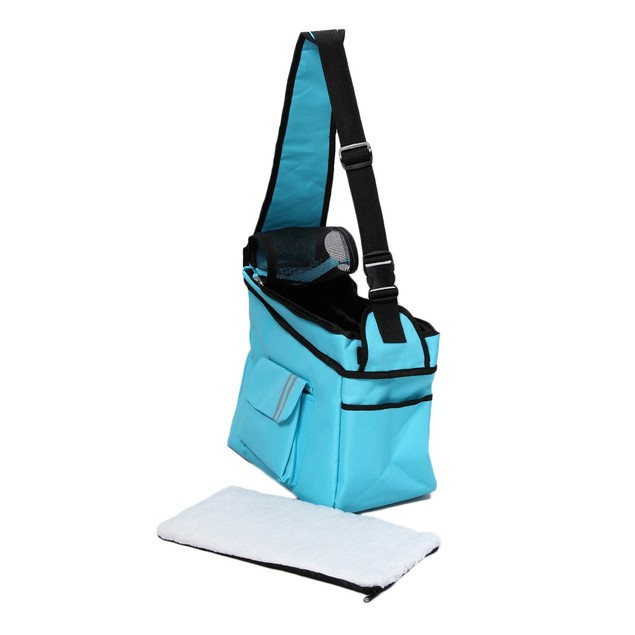 Fashion Back-Supportive Over-The-Shoulder Fashion Pet Carrier