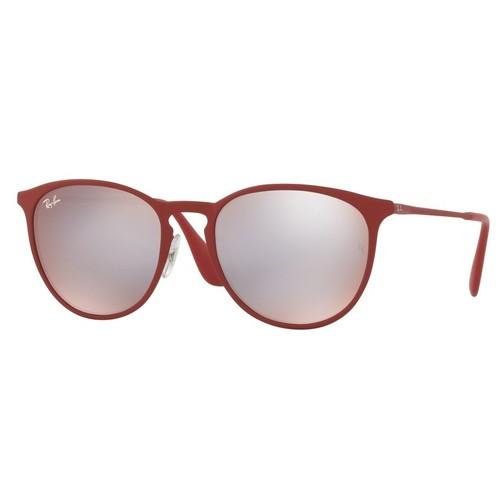 Ray-Ban Erika Metal Bordeaux Sunglasses RB3539-9023B5-54
