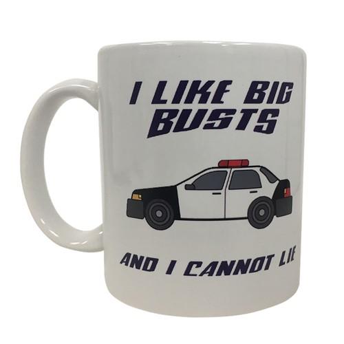 I Like Big Busts And I Cannot Lie 11 oz Coffee Mug