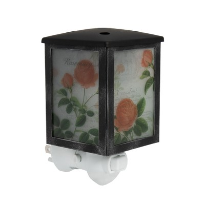 Scentsationals Home Fragrance Rose Blooms Accent Wax Warmer with Light Bulb