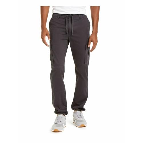 Sun + Stone Men's Whitford Hybrid Joggers Gray Size 38x32