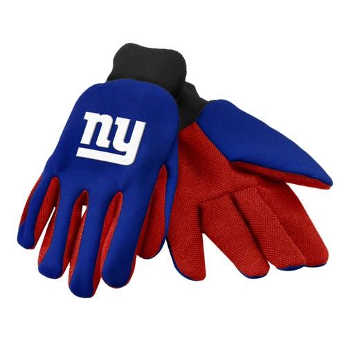 New York Giants NFL Work Gloves (Pair) Football Team Logo Grip NY