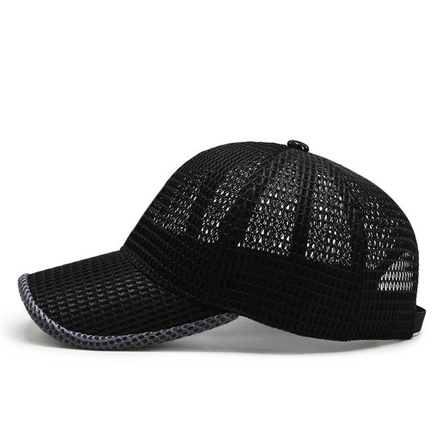 Unisex Mesh Cap Outdoor Adjustable Leisure Sunshade Running Baseball Hat