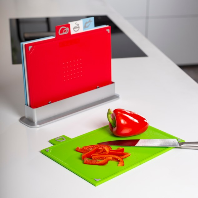 Coloured Index Chopping Board Set | MandW
