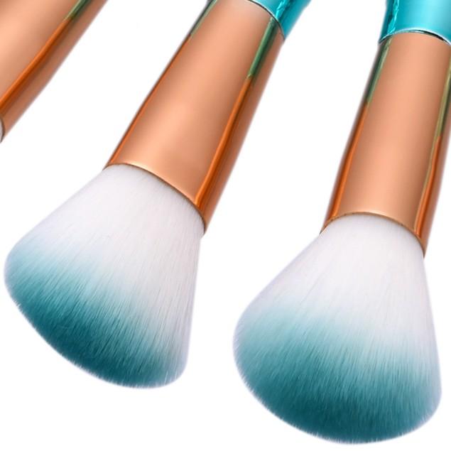10PCS Fish Scale Brush Powder Blush Makeup Cosmetic Brush 156