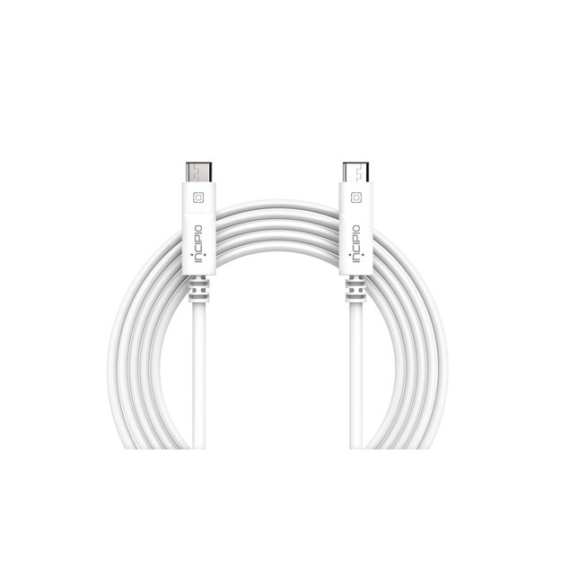 Incipio 3.1 USB-C to USB-C Cable - 1 Meter - White