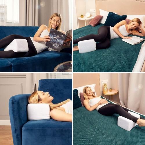 Premium Bamboo Memory Foam Knee Pillow