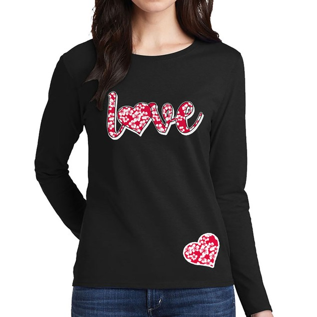 Women's My Comfy Valentine's Day-Long Sleeve