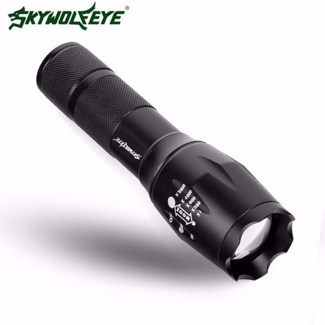 LED Flashlight G700 SkyWolfeye X800 Zoom Super Bright