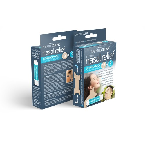 Breathe Clear® Nasal Relief Combo Pack
