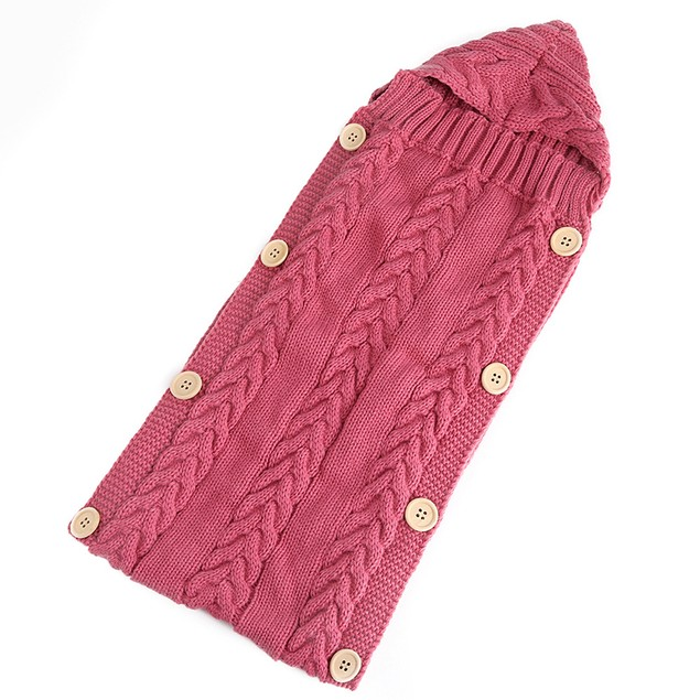 Autumn And Winter Infant Wool Stroller Sleeping Bag