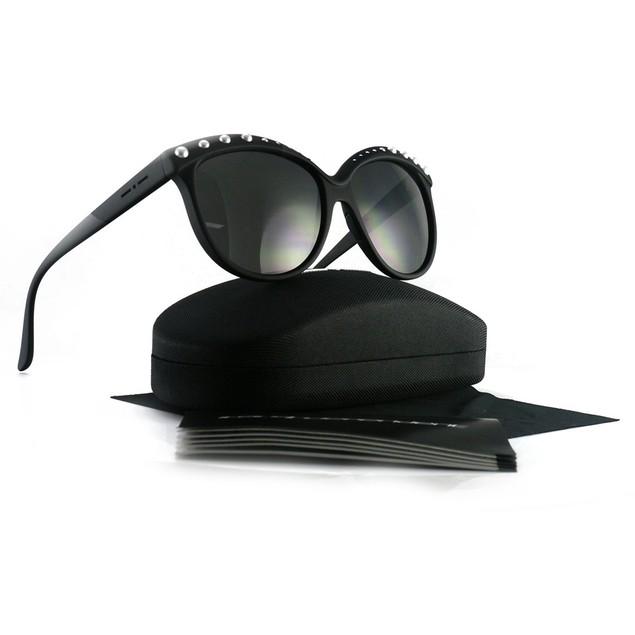 Italia Independent Women's Sumglasses II0092 P 009 Black/Pearl 58 20 140