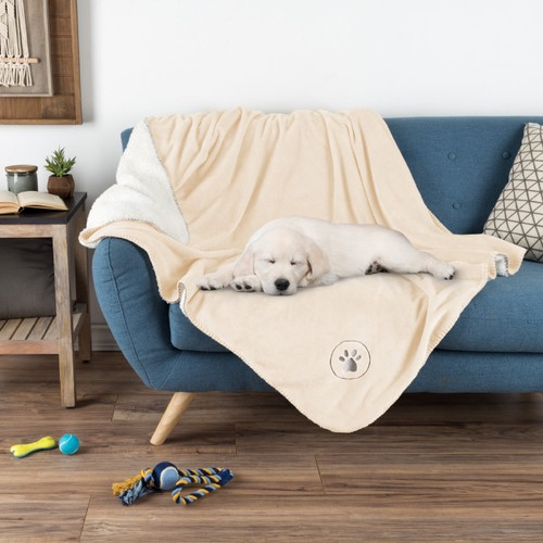 Waterproof Pet Blanket  60inx50in Soft Plush Throw Protects Couch
