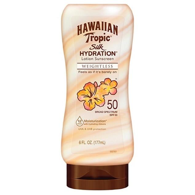 Hawaiian Tropic Silk Hydration Lotion Sunscreen SPF 50(OVERSTOCK SALE)