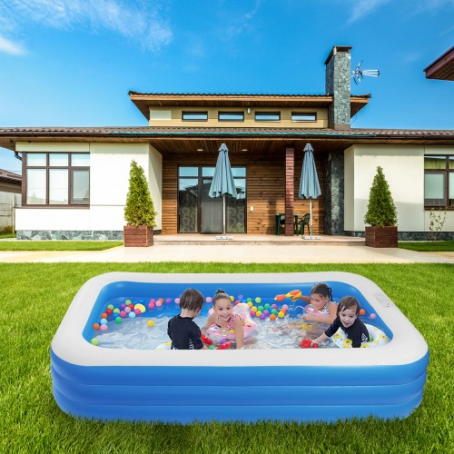 """120"""" x 72"""" x 22"""" Inflatable Swimming Pool - Wall Thickness"""