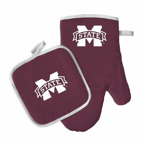 NCAA Mississippi State Bulldogs Oven Mitt And Pot Holder