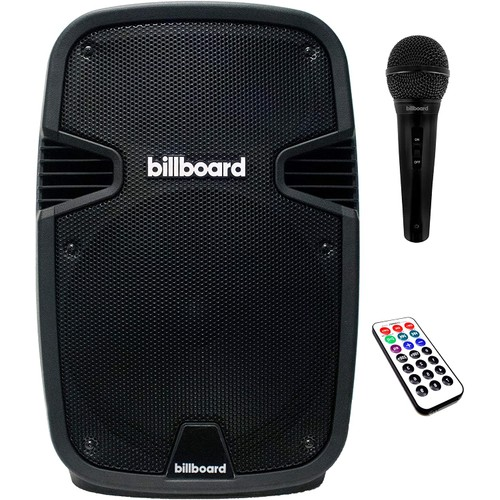 "Billboard 12"" Portable Bluetooth Party Rocker Speaker Enhanced Bass"