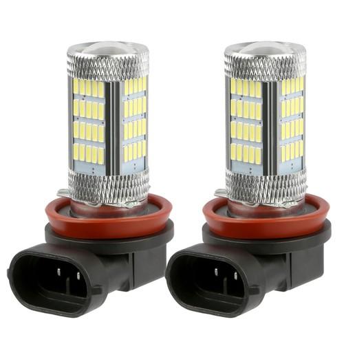 2PCS 800lm H8/H9/ H11 LED Fog DRL Light Bulb