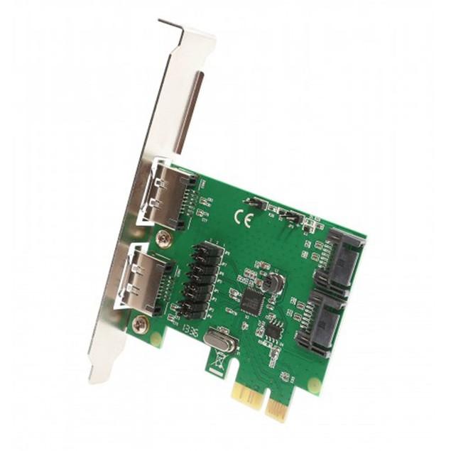 2 Port SATA III Or eSATA III PCI-e 2.0 x1 Card