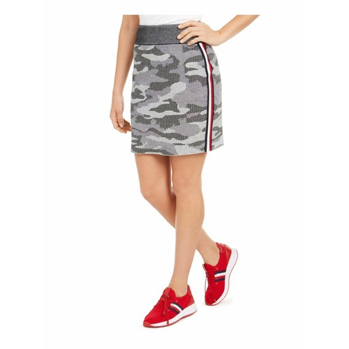 Tommy Hilfiger Women's Camo Mini Skirt Black Size  2 Extra Large