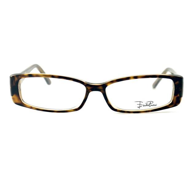 Emilio Pucci Women Eyeglasses EP2655 244 Havana Honey 53 14 135 Rectangle