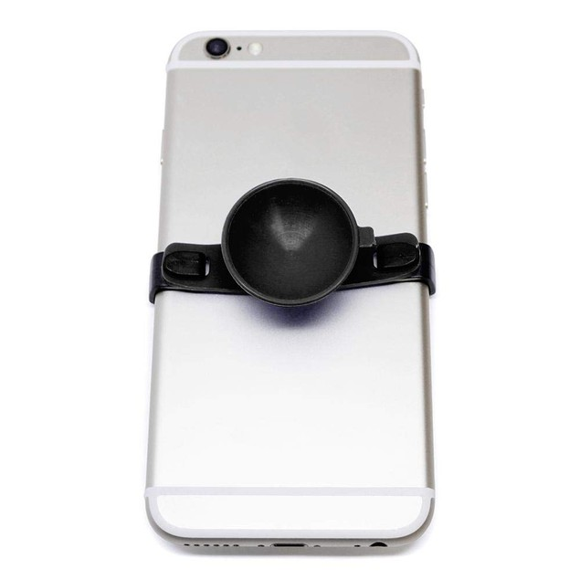 SUC-IT Thermal Silicone Suction Cup Phone Holder Stand, Black/Black