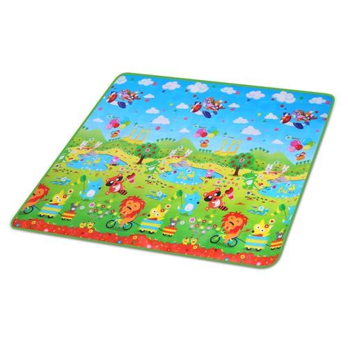 2 Sides Foldable Kids Play Mat Soft Foam